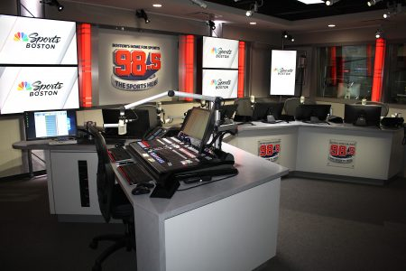 Image of 98.5 Radio Station Studio